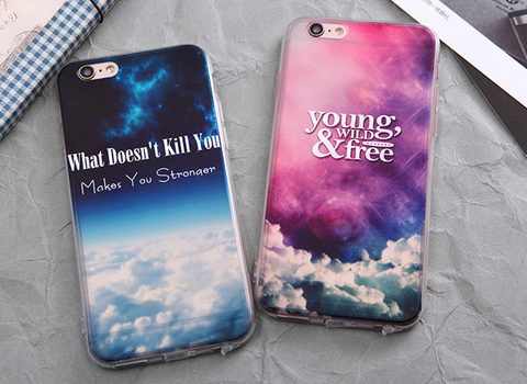 Inspirational Quote iPhone Phone Cases