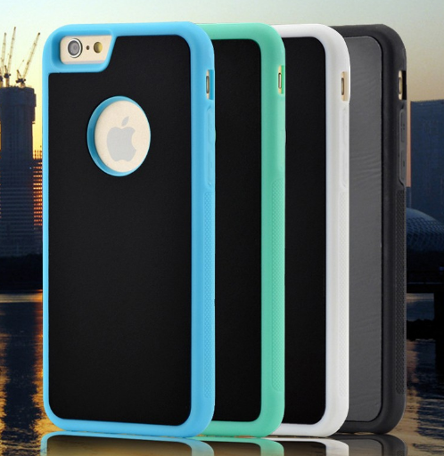 Stick-On-The Wall Phone case