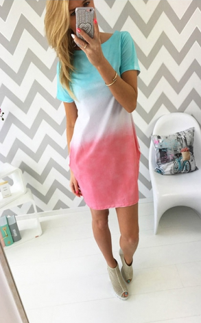 Casual T-shirt dress