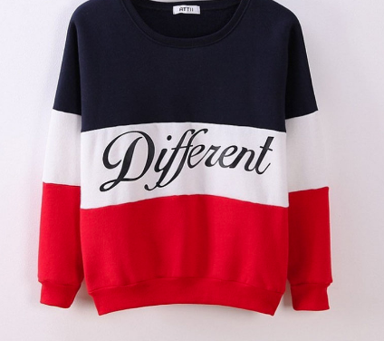 Different pullover