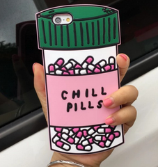 Pill & love iphone case phone