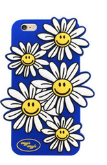 Blue flower iPhone case