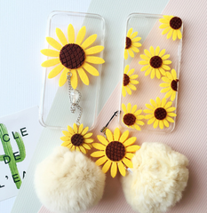 Sunflower Fur ball phone case iphone