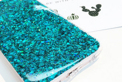 Glitter iPhone case phone