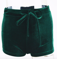 Velvet Shorts Special 2 PAIR for $32.99