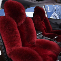 2 SEATS Girly Fur Seat Covers