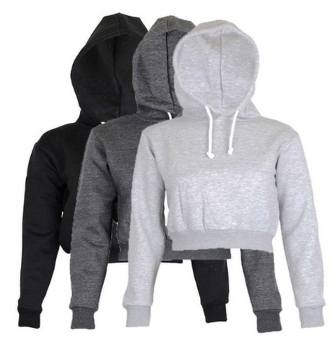 Jane Crop Hoodies