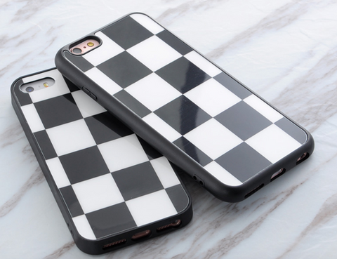 Checker iPhone Case