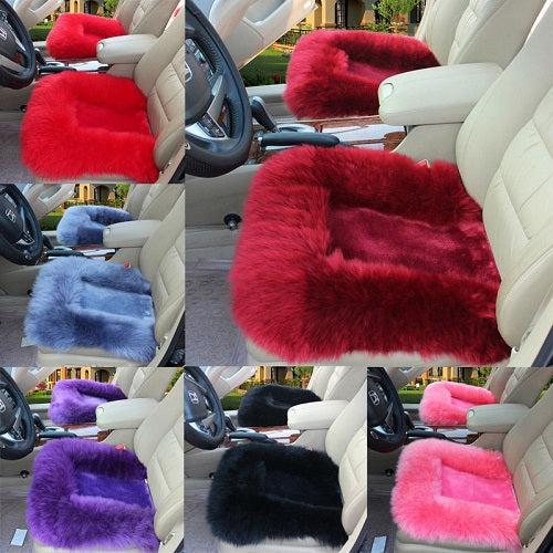 DEAL*! Fur seat Car Seat 5 pcs/set