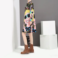 cartoon army dress one size fits all
