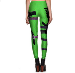 2 Guns Leggings different color tg