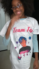 Colorful #TeamTaj Shirts