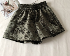 fluffy velvet shorts  one size  tg