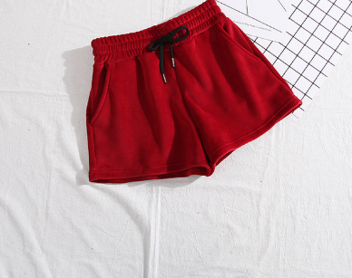 thermal velvet shorts tg