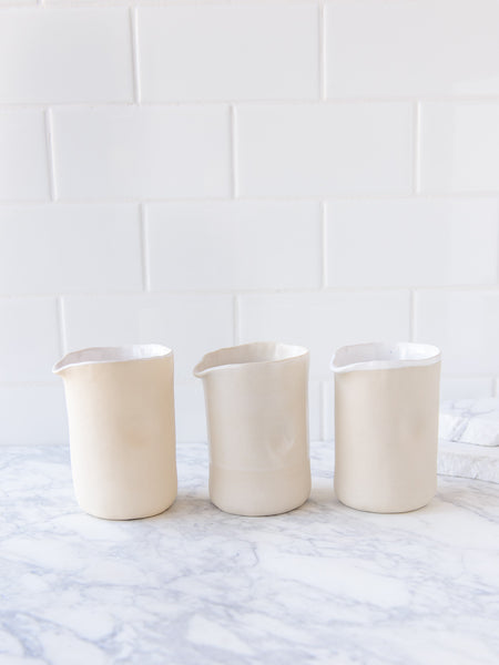 Dimple Pouring Jugs - medium tall