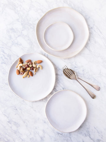 Beach House Nesting Plates - Patterned