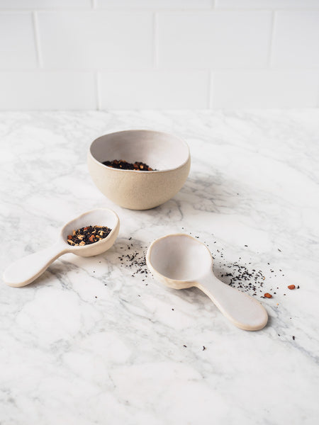 Tea Bar ~ Tablespoon Scoop, Straight :: Alpine Mist