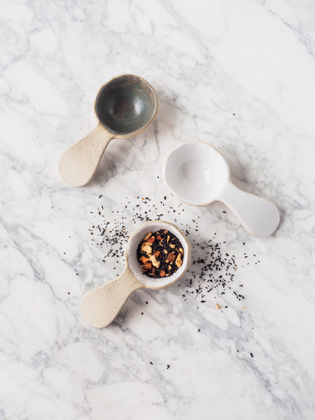 Tea Bar ~ Tablespoon Scoop, Curved :: Mixed