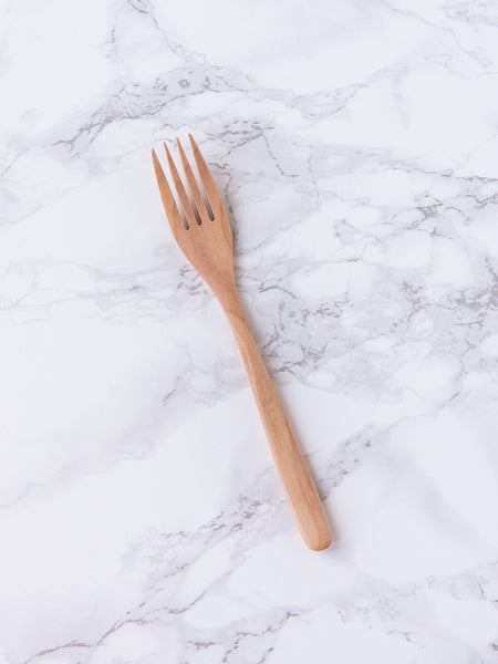 Casual Blond Wood Cutlery