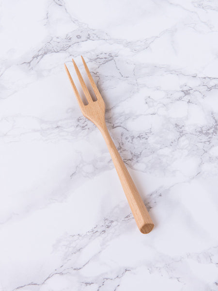 Serious Blond Wood Fork