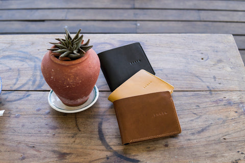 Forth Full Grain Leather Wallet