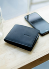 Type 2 Black - Men's Leather Wallet