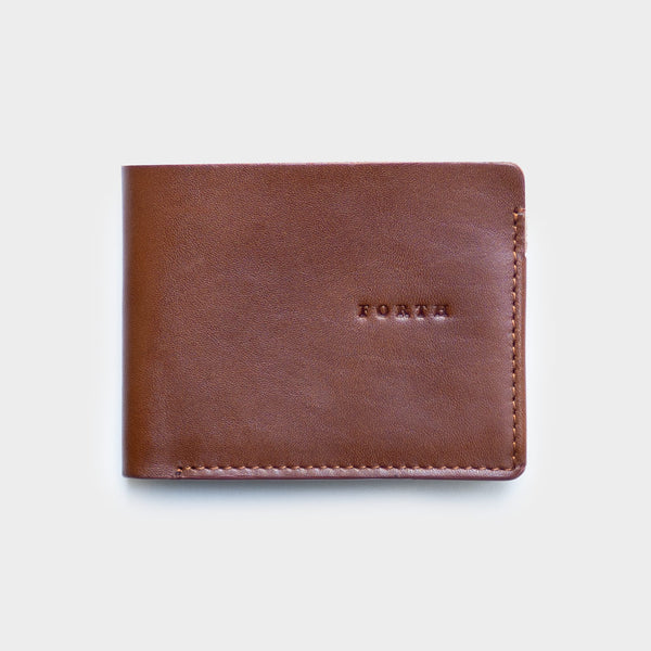 Type 1 Tan - Men's Leather Wallet