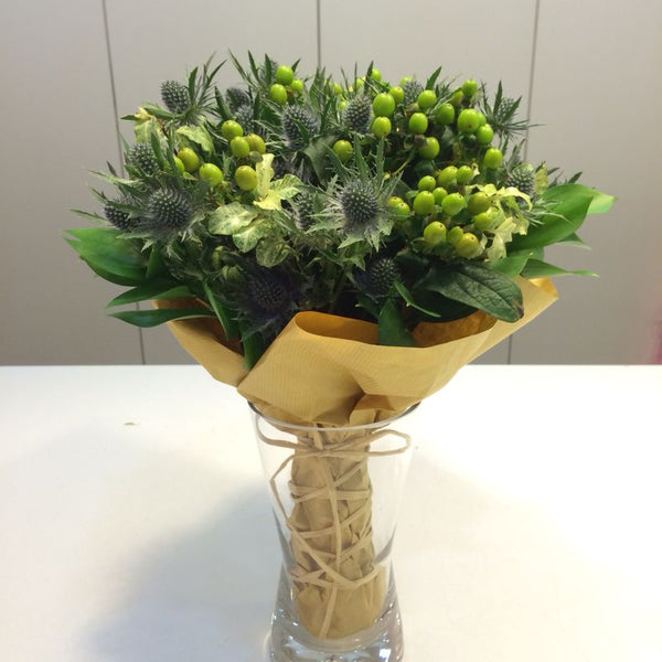 Sea Holly (Eryngium) Bouquet