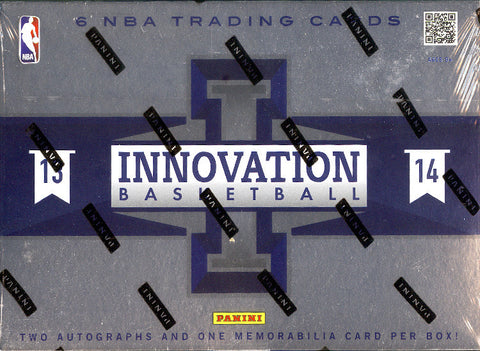 2013/14 Panini Innovation Basketball Box