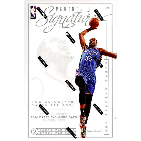 2013/14 Panini Signatures Basketball Box