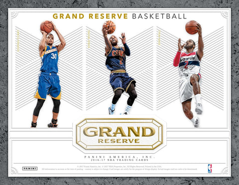 2016/17 Panini Grand Reserve Basketball Box