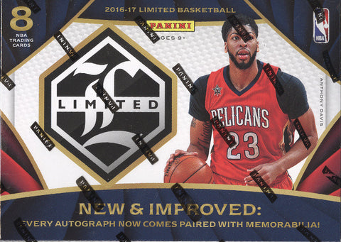 2016/17 Panini Limited Basketball Box