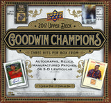 2017 Upper Deck Goodwin Champions