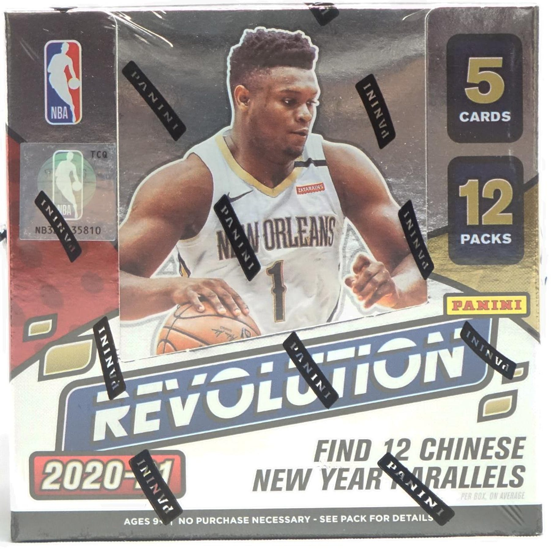 2020/21 Revolutions Chinese New Year Hobby Box