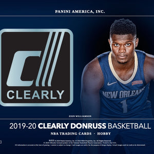2019/20 Clearly Donruss Basketball Box