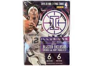 2019/20 Illusions 6 Pack Blaster Box