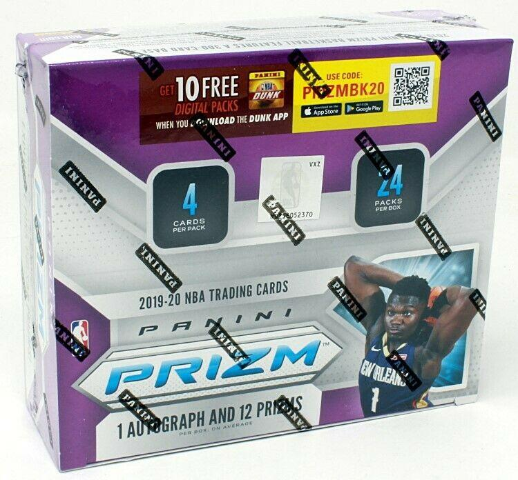2019/20 Panini Prizm Retail Basketball Box