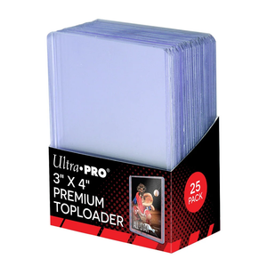 Ultra Pro 35 pt Toploader (25 pack) (must be ordered with sports cards)