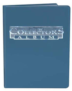 Ultra Pro Collector Portfolio 4-Pocket Blue (MUST BE ORDERED WITH SPORTS CARDS)