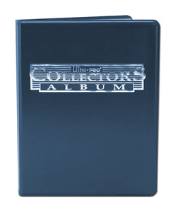 Ultra Pro Collector Portfolio 9-Pocket Blue (MUST BE ORDERED WITH SPORTS CARDS)