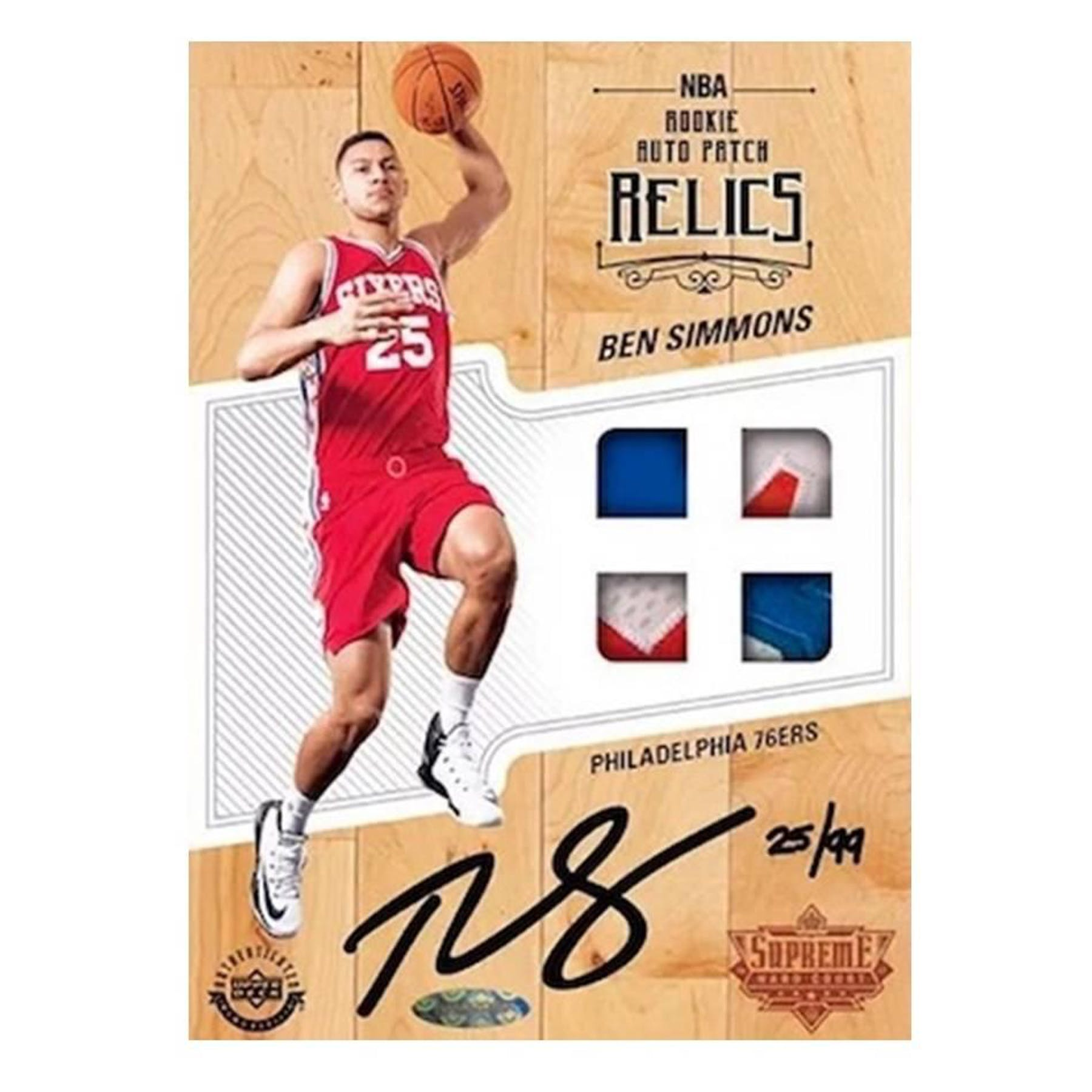 2017/18 Upper Deck Supreme Hard Court Basketball