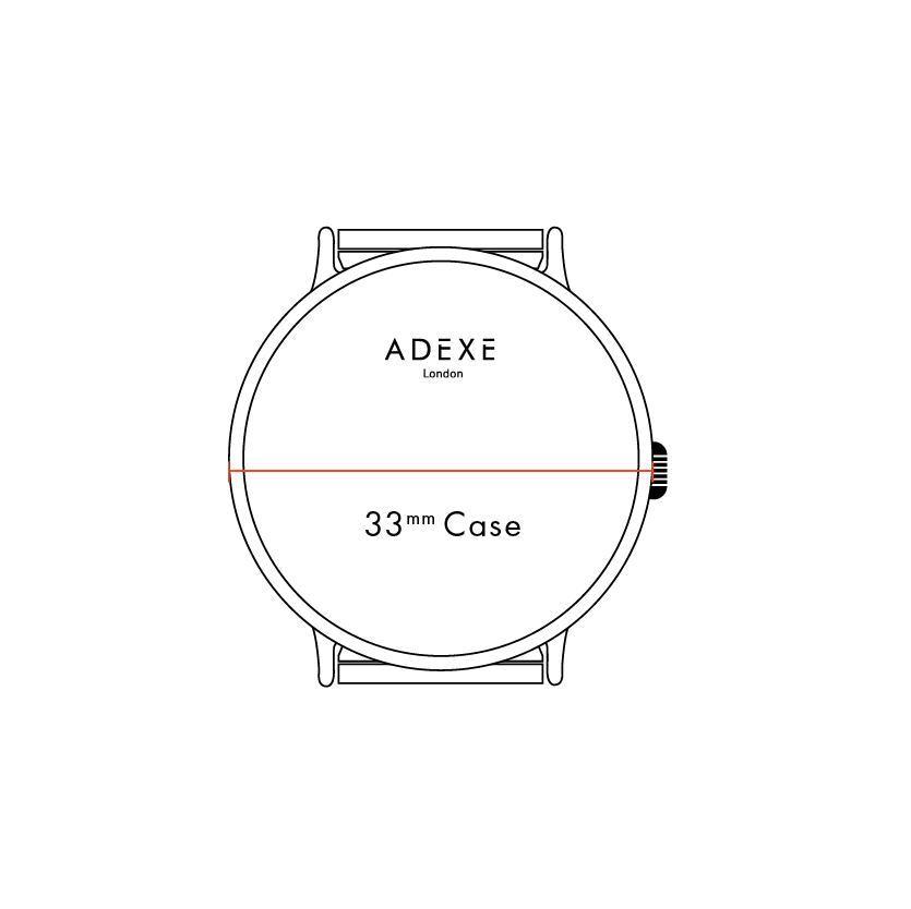 Case Size: 33mm