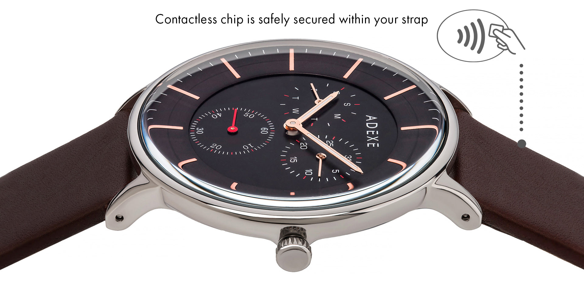 bPay Contactless Straps x ADEXE Watches