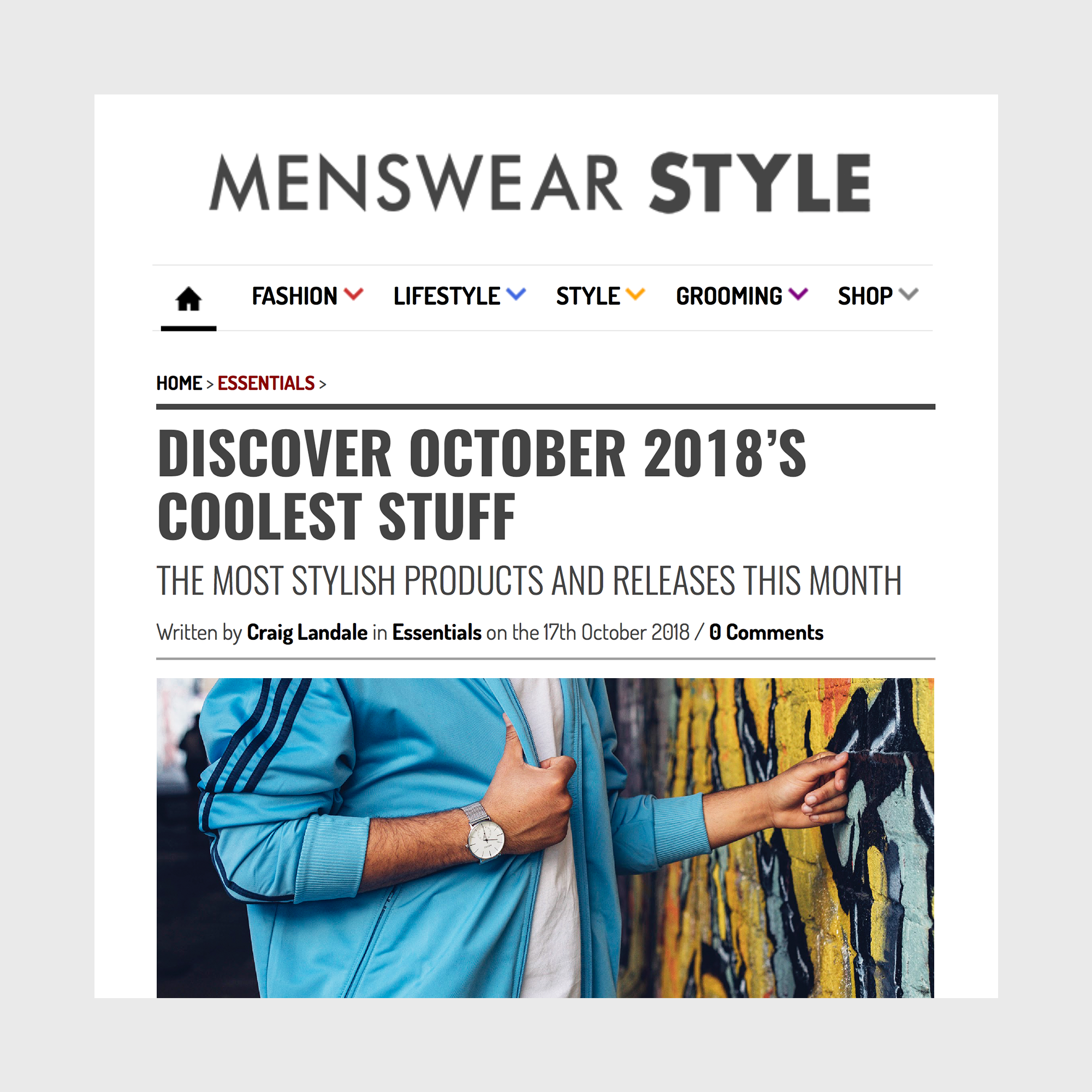 Menswear Style with ADEXE Watches