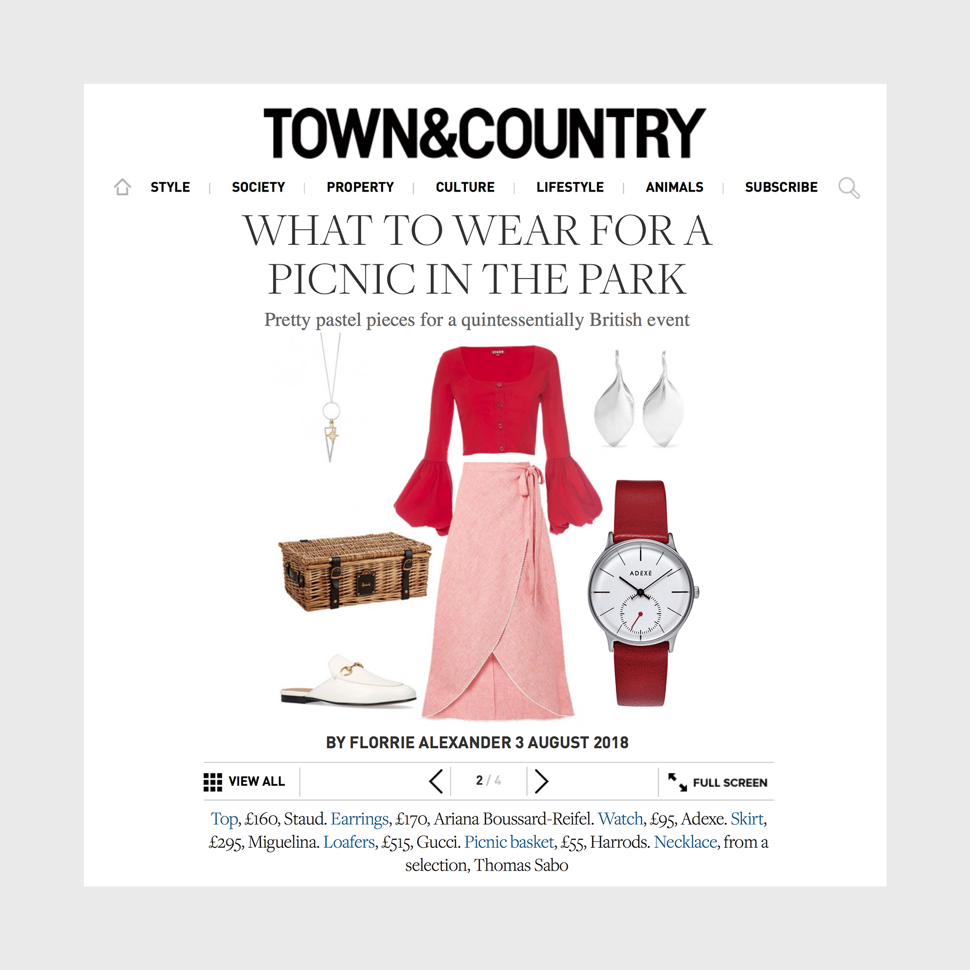 Town and Country with ADEXE