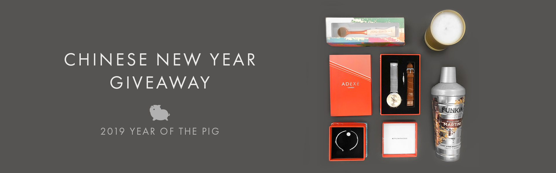 Chinese New Year Giveaway with ADEXE