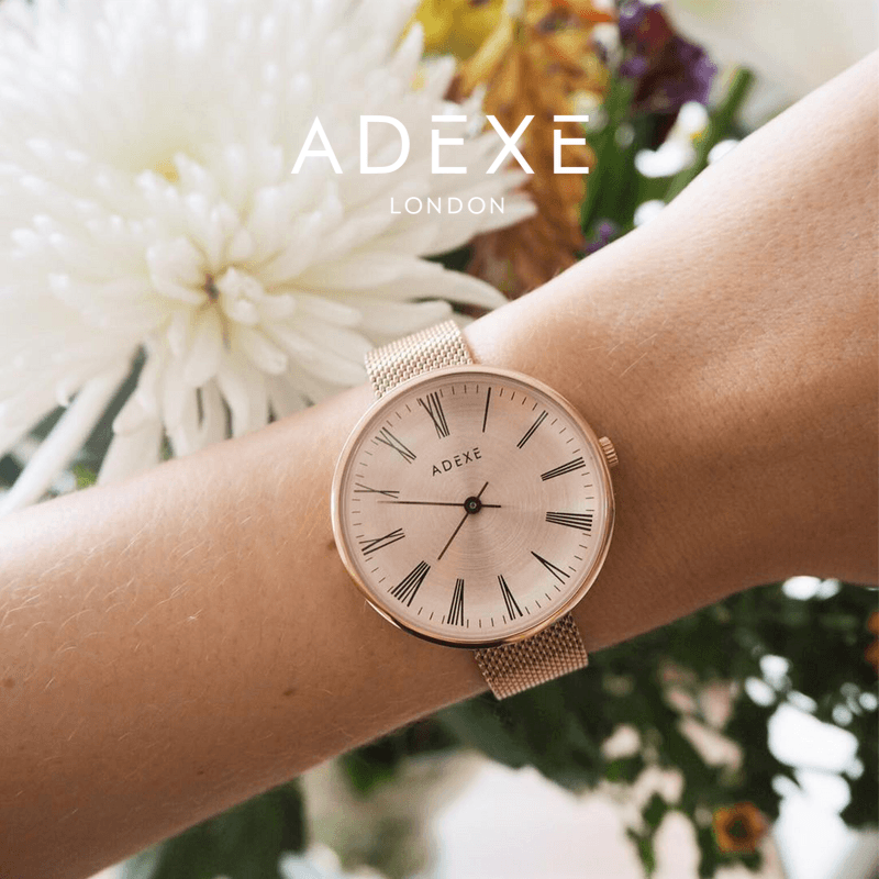 Petite Mesh Case 35mm - ADEXE Watches