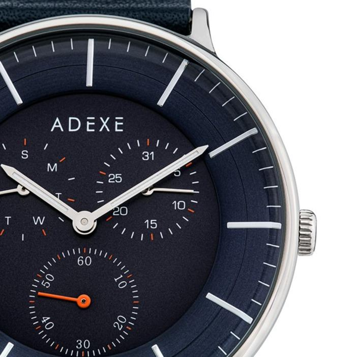 Grande Leather 2.0 -Silver Case 41mm Première Adexe