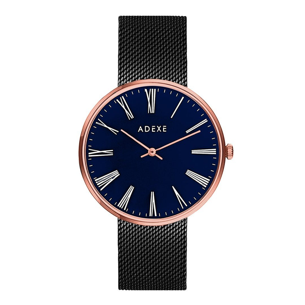 Grande Blue & Black ADEXE Watches