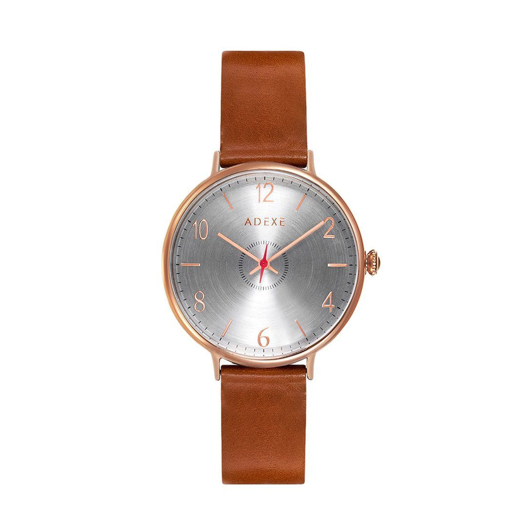 Petite Leather Case 32.5mm - ADEXE Watches